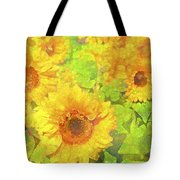 Sunflower 19 Tote Bag by Pamela Cooper