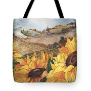 Sunflower Serenity Tote Bag by Meldra Driscoll