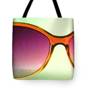 Sunglass - 5D20678 - v3 Tote Bag by Wingsdomain Art and Photography