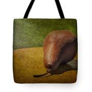 Sunlit Pear Tote Bag by Susan Candelario