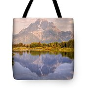 Sunrise At Oxbow Bend 2 Tote Bag by Marty Koch