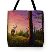 Sunrise Buck Tote Bag by C Steele