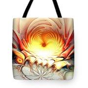 Sunrise In Neverland Tote Bag by Anastasiya Malakhova