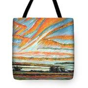 Sunrise Les Eboulements Quebec Tote Bag by Patricia Eyre