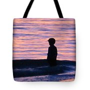 Sunset Art - Contemplation Tote Bag by Sharon Cummings
