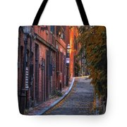 Sunset In Beacon Hill Tote Bag by Joann Vitali