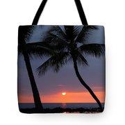 Sunset In Hawaii Tote Bag by Athala Carole Bruckner
