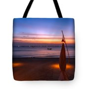 Sunset Lanta Island  Tote Bag by Adrian Evans