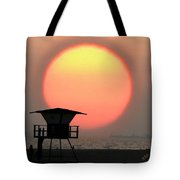 Sunset On The Beach Tote Bag by Ben and Raisa Gertsberg