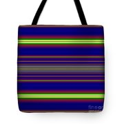 Sunset Over The Ocean Fractal Tote Bag by Rose Santuci-Sofranko