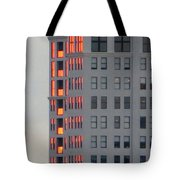 Sunset Reflections In St. Pete Tote Bag by Dorothy Menera