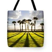 Sunset Sentinels Tote Bag by Debra and Dave Vanderlaan