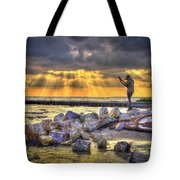 Sunset Serenade  Tote Bag by Marvin Spates