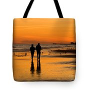 Sunset Stroll Tote Bag by Al Powell Photography USA