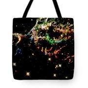 Supernova Remnant Cassiopeia A Tote Bag by Amanda Struz