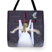 Surrender version 2 Tote Bag by Constance Woods