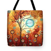 Surrounded By Love By Madart Tote Bag by Megan Duncanson