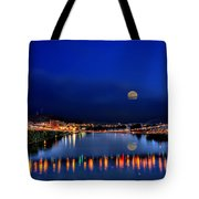 Suspension Bridge Tote Bag by Dan Friend
