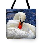 Swan Lake Tote Bag by Mariola Bitner