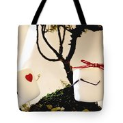 Sweet Surprise Tote Bag by Heather Applegate
