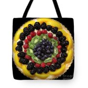 Sweet Treats - Fruit Cake - 5d20920 - Square Tote Bag by Wingsdomain Art and Photography