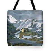 Switzerland Hospice Of St. Bernard Tote Bag by Italian School