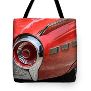 T-bird Tail Tote Bag by Dennis Hedberg