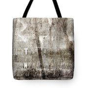 T W Tote Bag by Carol Leigh