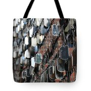 Tags Tote Bag by DJ Florek