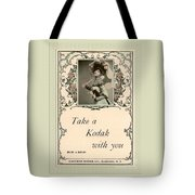 Take A Kodak With You Tote Bag by Anne Kitzman
