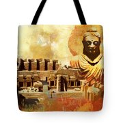 Takhat Bahi Unesco World Heritage Site Tote Bag by Catf