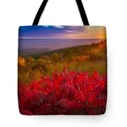 Talimena Evening Tote Bag by Inge Johnsson