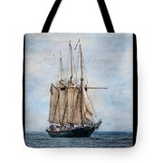 Tall Ship Denis Sullivan Tote Bag by Dale Kincaid