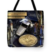 Tampa Police St Michael Tote Bag by Gary Yost