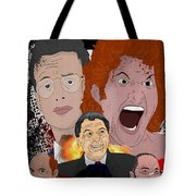 Tango And Cash Tote Bag by Ralf Wandschneider