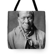 Taos Indian Circa 1905 Tote Bag by Aged Pixel