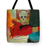 Tarot Card Abstract Tote Bag by Corporate Art Task Force