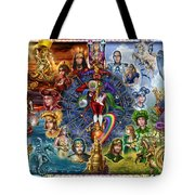 Tarot of Dreams Tote Bag by Ciro Marchetti