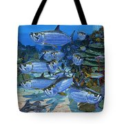 Tarpon Alley In0019 Tote Bag by Carey Chen