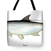 Tarpon Tote Bag by Charles Harden