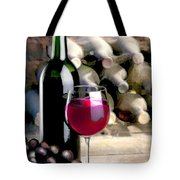 Tasting Time Tote Bag by Elaine Plesser