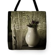 Tattered Tote Bag by Amy Weiss