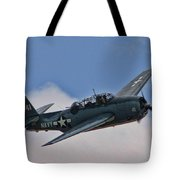 Tbm-3 Avenger Tote Bag by Tommy Anderson