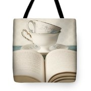 Tea for Two Tote Bag by Amy Weiss