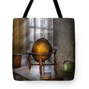 Teacher - Around The World Tote Bag by Mike Savad