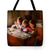 Teacher - Classroom - Education Can Be Fun  Tote Bag by Mike Savad