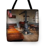 Teacher - First Day Of School Tote Bag by Mike Savad