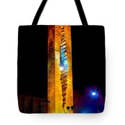 Tear Drop At Night Tote Bag by Nick Zelinsky