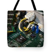 Technology - The Motherboard Tote Bag by Paul Ward