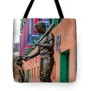 Teddy Ballgame Tote Bag by Mike Ste Marie